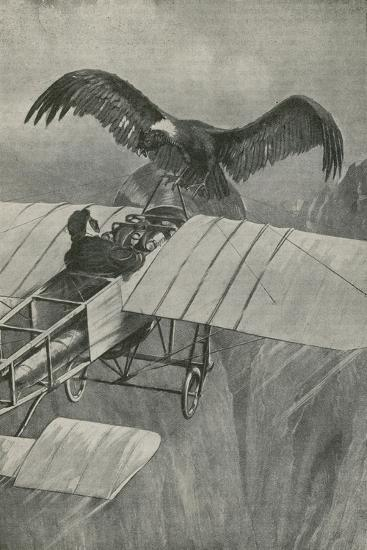 The King of the Air Meets an Invader--Giclee Print