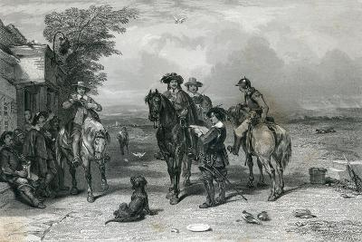 The King on His Journey to the Scots, 1844--Giclee Print