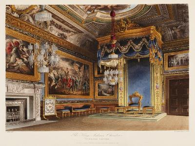 The King's Audience Chamber, Windsor Castle-T^ Sutherland-Giclee Print