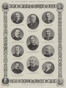 The King's Birthday Honours, Prominent Recipients
