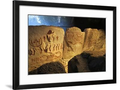 The King's Grave Near Kivik (Kungagrave), 1 Half of the 2nd Millenium Bc--Framed Photographic Print