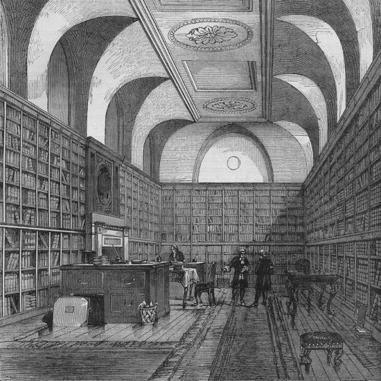 The King's Library, Buckingham House, Westminster, London, 1775 (1878)-Unknown-Giclee Print