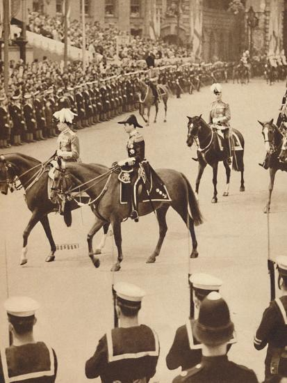 'The King's Personal Aides-De-Camp', May 12 1937-Unknown-Photographic Print