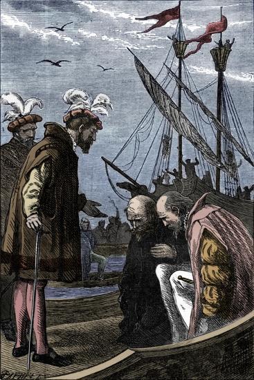 The King Visits Vasco da Gama, 1904-Unknown-Giclee Print