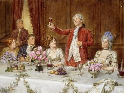 The King!-George Goodwin Kilburne-Giclee Print