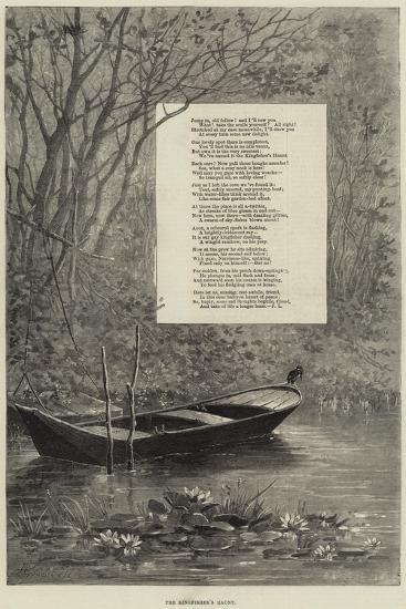 The Kingfisher's Haunt--Giclee Print