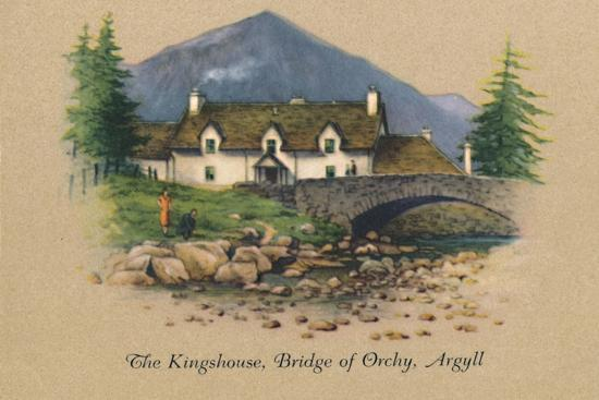 'The Kingshouse, Bridge of Orchy, Argyll', 1939-Unknown-Giclee Print