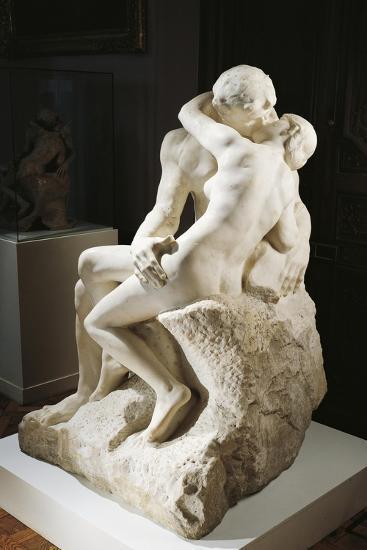 The Kiss, 1888-1889-Auguste Rodin-Giclee Print