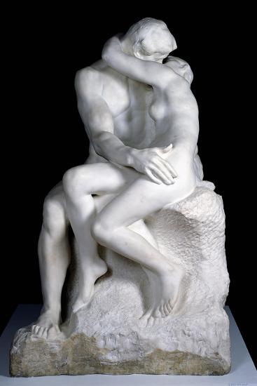 The Kiss, 1888-98-Auguste Rodin-Giclee Print