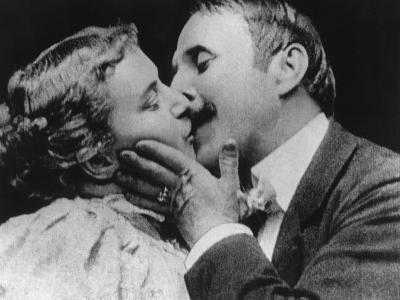 The Kiss, 1896--Photographic Print