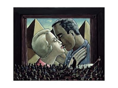 The Kiss, 2003-P.J. Crook-Giclee Print