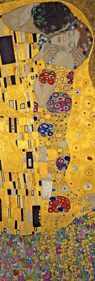 The Kiss, c.1907 (detail)-Gustav Klimt-Art Print