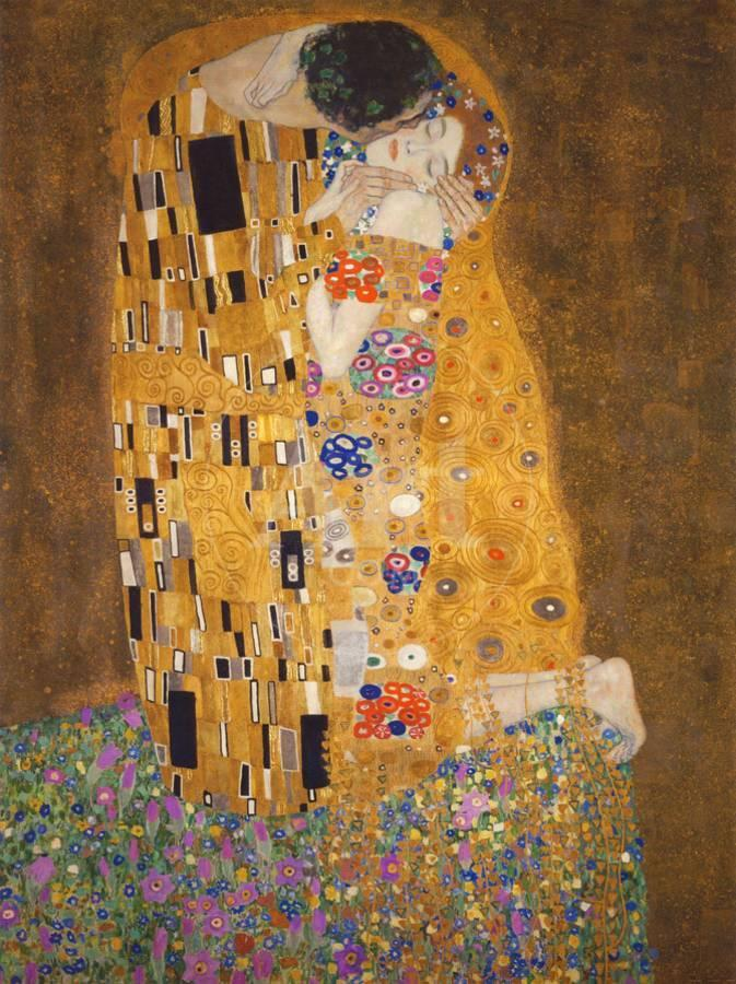 The Kiss, c.1907 Art Print by Gustav Klimt   the NEW Art.com
