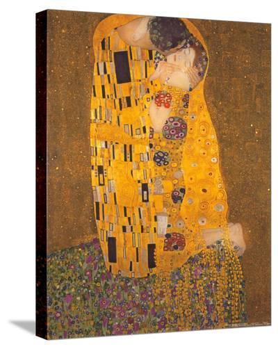 The Kiss, c.1907-Gustav Klimt-Stretched Canvas Print