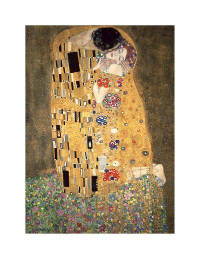 The Kiss, c.1907-Gustav Klimt-Giclee Print