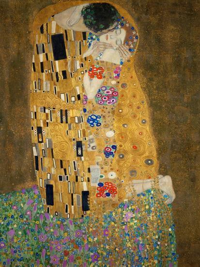 The Kiss, c.1907-Gustav Klimt-Premium Giclee Print