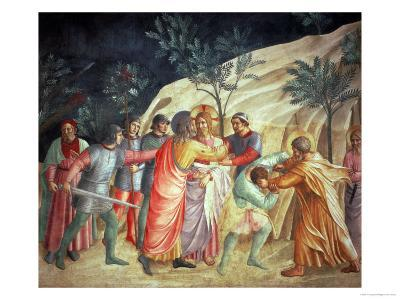 The Kiss of Judas, 1442-Fra Angelico-Giclee Print