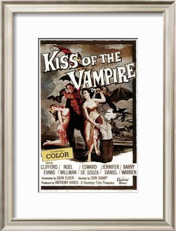 The Kiss Of The Vampire 1963 Photo Art Com