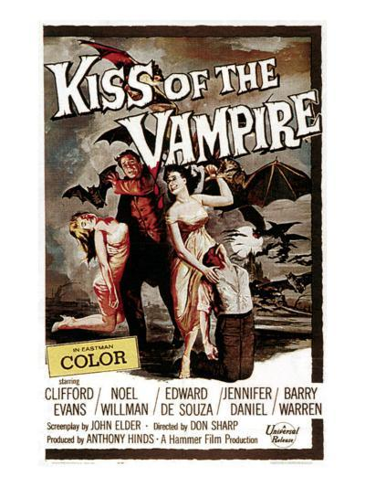 The Kiss of the Vampire, 1963--Photo