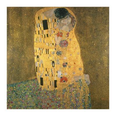 The Kiss-Gustav Klimt-Premium Giclee Print