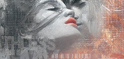 The Kiss-Enrico Sestillo-Art Print