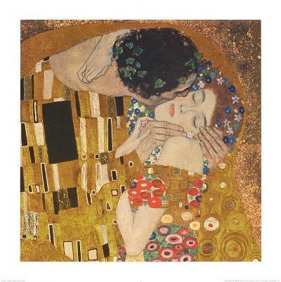 The Kiss-Gustav Klimt-Art Print