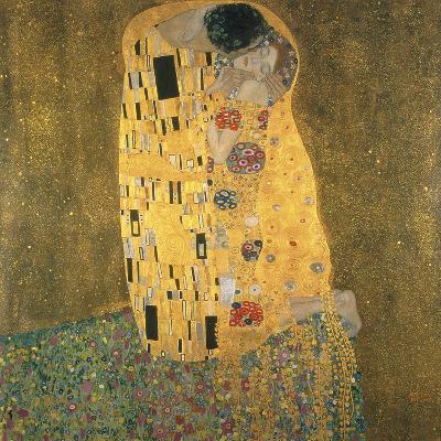 The Kiss-Gustav Klimt-Giclee Print