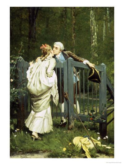 The Kiss-Auguste Serrure-Giclee Print