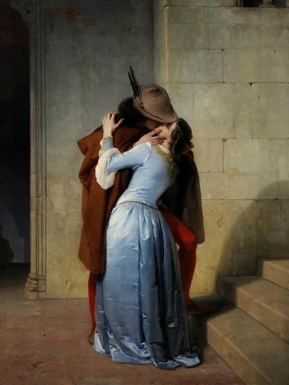 The Kiss-Francesco Hayez-Giclee Print