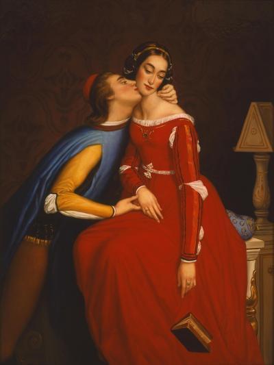 The Kiss-Edgar Jerins-Giclee Print