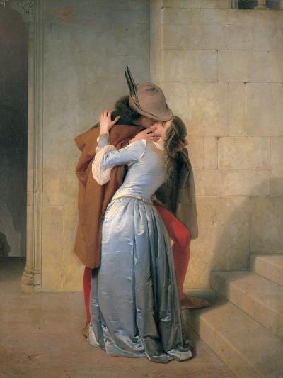 The Kiss-Hayez Francesco-Photographic Print