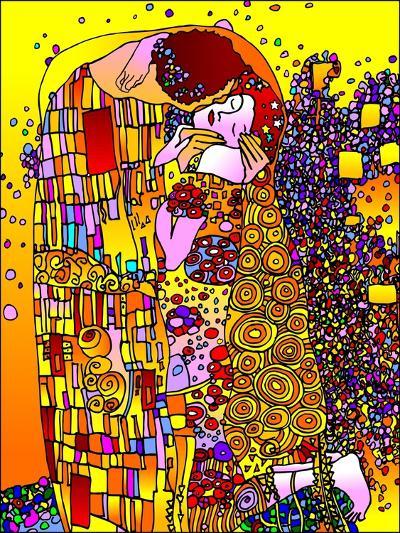 The Kiss-Howie Green-Giclee Print