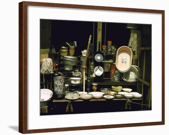 The Kitchen Classics from a Pictorial Essay on Street Displays-Walker Evans-Framed Photographic Print