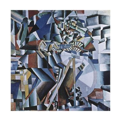 The Knife Grinder, 1912-13-Kasimir Malevich-Giclee Print