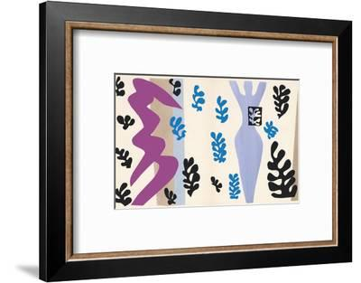 The Knife Thrower, pl. XV from Jazz, c.1943-Henri Matisse-Framed Art Print