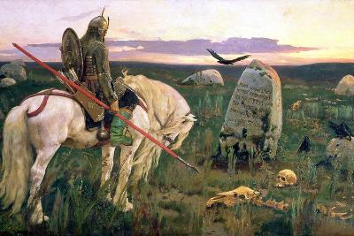 The Knight at the Crossroads, 1882-Victor Mikhailovich Vasnetsov-Giclee Print