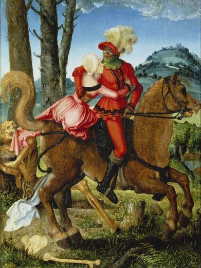 The Knight, the Young Girl and Death-Hans Baldung-Giclee Print