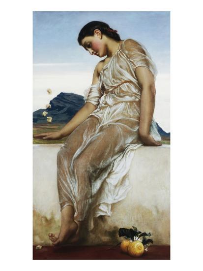 The Knucklebone Player-Frederick Leighton-Giclee Print