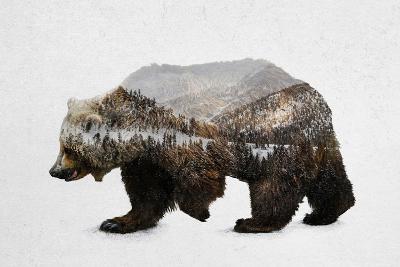 The Kodiak Brown Bear-Davies Babies-Art Print