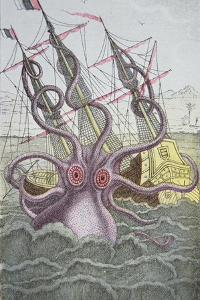 The Kraken Drags Down a Ship