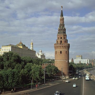 The Kremlin from the South West, 15th Century-Antonio Gislardi-Photographic Print