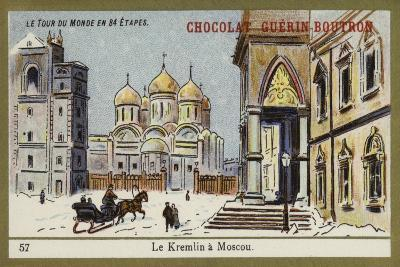 The Kremlin in Moscow--Giclee Print