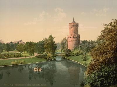 The Kronenbourg Park, Nymegen, Holland, C.1890-C.1900--Giclee Print