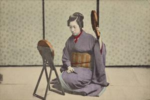 Woman with Mirrors by The Kyoto Collection