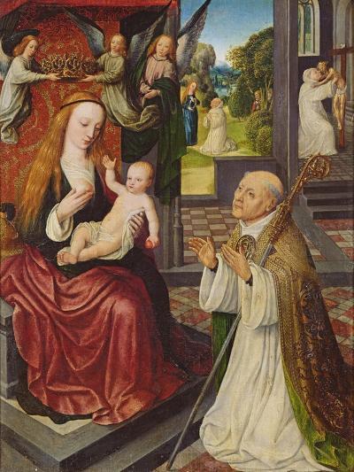 The Lactation of St. Bernard-Jan van Eeckele-Giclee Print