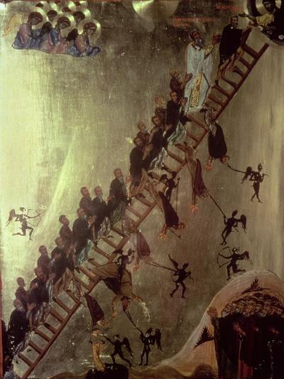 'The Ladder of John Klimakos' Icon, 12th Century--Giclee Print