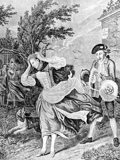 The Ladies Disaster, 1771-Caldwell-Giclee Print