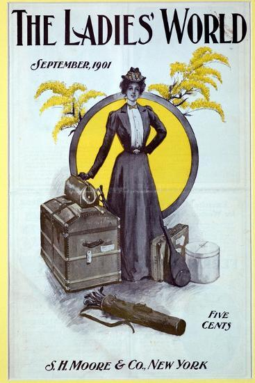 The Ladies World, magazine cover, 1901-Unknown-Giclee Print