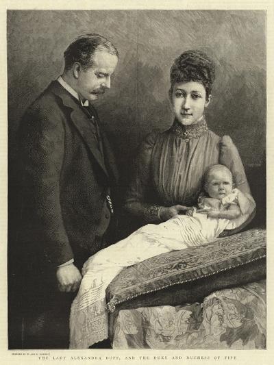 The Lady Alexandra Duff, and the Duke and Duchess of Fife--Giclee Print
