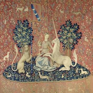 The Lady and the Unicorn, Sight, Between 1484 and 1500